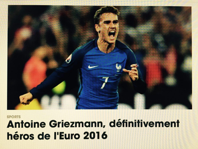 Griezmann, le héros des commentateurs